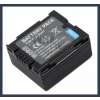 Panasonic NV-GS22EG-S 7.2V 700mAh utángyártott Lithium-Ion kamera/fényképezőgép akku/akkumulátor