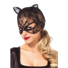 Leg Avenue csipkés macskanő maszk (3746)