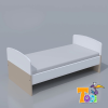 TODI Kaméleon fehér junior ágy
