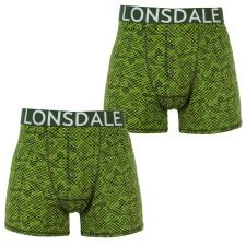 Lonsdale Boxeralsó Lonsdale 2 Pack Boxers fér. férfi alsó