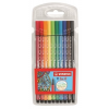 """STABILO Rostirón készlet, 1 mm, STABILO """"Pen 68"""", 10 különböző szín"""