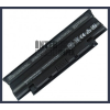 Dell Inspiron N5110 4400 mAh 6 cella fekete notebook/laptop akku/akkumulátor utángyártott