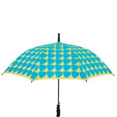 RAIN OR SHINE esernyő háromszög türkiz