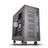 Thermaltake Core W100 Super-torony - fekete, ablakos
