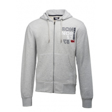 Helly Hansen GRAPHIC FZ HOODIE Sweatshirt D (54176M_814-STONE GREY)