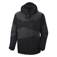 Columbia Parallel Grid(TM) Jacket Síkabát D (WM1039l_010-Black)
