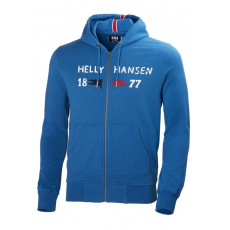 Helly Hansen Graphic Fz Hoodie Sweatshirt D (54300-n_811-Indie Blue)