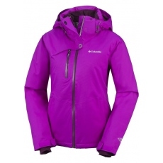 Columbia 1622331 Mile Summit Jacket Síkabát D (SL1319-n_530-Bright Plum)