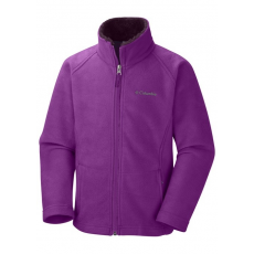 Columbia 1556921 Dotswarm II Fleece FZ Polár D (WG6006-n_530-Bright Plum)