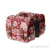 BASIL Bloom Double Scarlet Red táska csomagtartóra