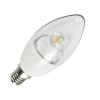 LED izzó C37 E14 6W 280° hideg fehér