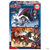 Educa Borras Puzzle Capitan America Civil War Marvel 2x100pz gyerek