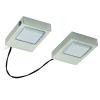 EGLO LED-es konyhai lámpa 2x3,7W matt nikkel szögletes Lavaio EGLO