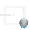 EGLO Süllyesztett Eglo 18W LED panel, négyzet, fehér keret, 3000K melegfehér - Fueva 1 - 94068