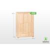 Möbelstar 3 ajtós 2 fiókos szekrény 195x55 cm