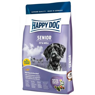 happy dog fit well senior 300gr kutyaeledel rak sszehasonl t s olcs. Black Bedroom Furniture Sets. Home Design Ideas