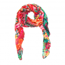 Desigual Foulard Gipsy Rectangle Sál D (61w54a7-o_3026-Rojo Fresa)
