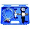 BGS 6-részes hűtőfolyadék nyomásmérő és utántöltő, univerzális