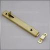 Tolózár 100 mm arany egyenes közézárodó  Spanyol MHA