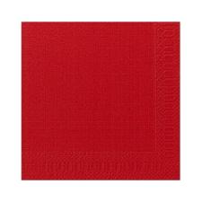 Duni szalvéta - 3 rétegű, 33x33, piros színben higiéniai papíráru