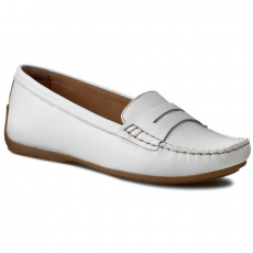 Clarks Mokaszin CLARKS - Doraville Nest 261172244 White Leather