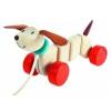 Plan Toys Happy Puppy Fajáték, Kutya