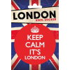 London Keep Calm matrica