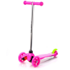 Meteor Háromkerekű roller - pink
