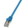 LogiLink CAT5E F/UTP PATCH CABLE AWG26 BLUE 2,00M