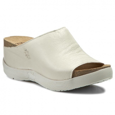 Fly London Papucs FLY LONDON - Wigg P143672004 Mousse Offwhite