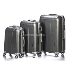 YEARZ - MARCH Yearz NEW CARAT 2 ezüst cirmos négykerekű bőröndszett Y088-Szett