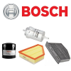 Bosch Audi A5 2.0 TDi (CGLC, 177 LE) szűrőszett BOSCH + Castrol Edge 5w30 5 Liter motorolaj