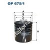 Filtron OP675/1 Filron olajszűrő