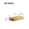 Filtron AP092/9 Filtron levegőszűrő