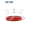 Filtron AR289 Filtron levegőszűrő