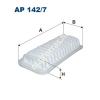 Filtron AP142/7 Filtron levegőszűrő