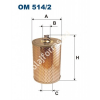 Filtron OM514/2 Filron olajszűrő