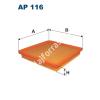 Filtron AP116 Filtron levegőszűrő