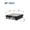 Filtron AP143/3  Filtron levegőszűrő