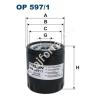 Filtron OP597/1 Filron olajszűrő
