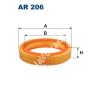 Filtron AR206 Filtron levegőszűrő