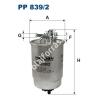 Filtron PP839/2 Filtron üzemanyagszűrő