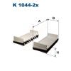 Filtron K1044-2x Filtron pollenszűrő