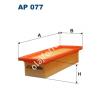 Filtron AP077 Filtron levegőszűrő