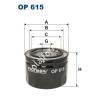 Filtron OP615 Filron olajszűrő