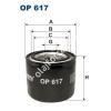 Filtron OP617 Filron olajszűrő