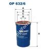 Filtron OP632/6 Filron olajszűrő