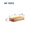 Filtron AP193/5 Filtron levegőszűrő