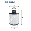 Filtron OE682/2 Filron olajszűrő
