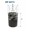 Filtron OP647/3 Filron olajszűrő